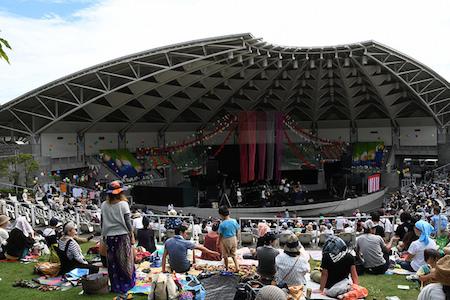 『服部緑地RAINBOWHILL2017』@大阪・服部野外音楽堂