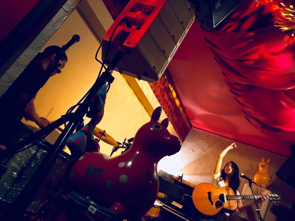 『ムジカジャポニカ15周年記念ライブ! 〜アコギとドラムでうたうたびに〜 本夛マキ with 高木太郎』